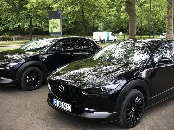 CX-30-Treffen auf Zeche Ewald
