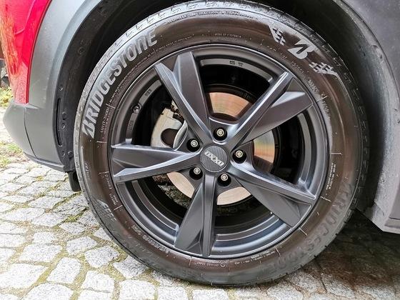Reifen behandelt 😉